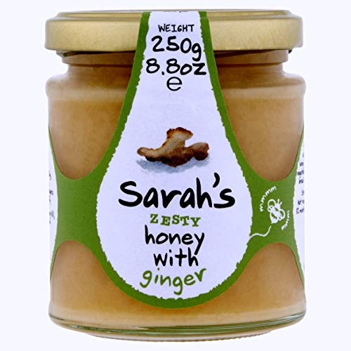 Mileeven Sarah's Zesty Honey with Ginger, 8.8 Ounce ()