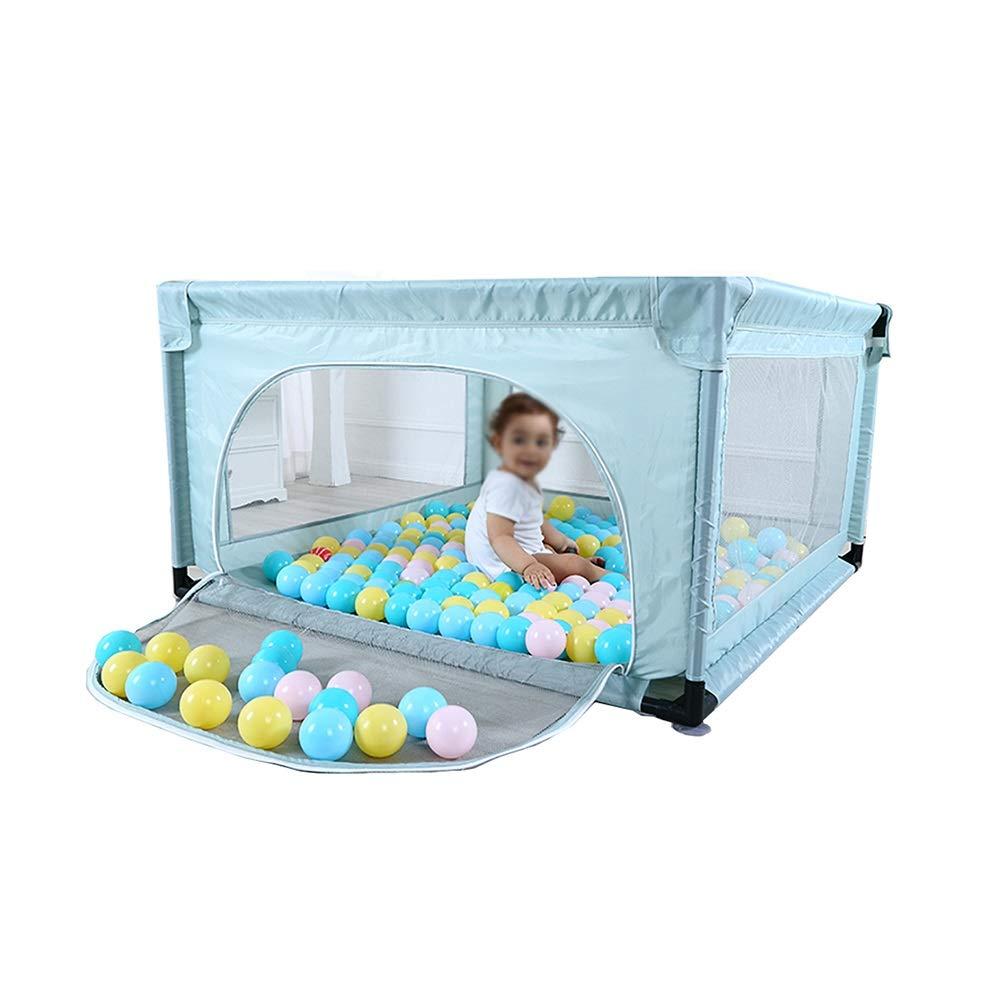 【特別セール品】 100ボールとクロールマット ダークグリーン - B07KTK8DS6、屋内屋外の子供ヘビーデューティーフェンス - ダークグリーン B07KTK8DS6, ときいろインテリア:88705a4f --- a0267596.xsph.ru