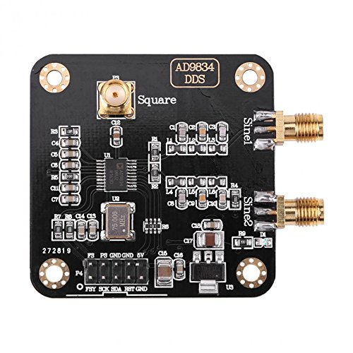 Semoic AD9834 DDS signal from the sine/square/triangle-wave generator module signal source ()