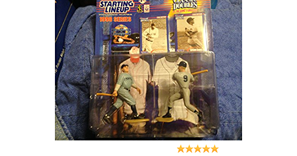 Mantle Maris New York Yankees Starting Lineup 1997 Classic Doubles figure set