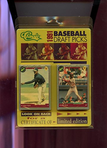 Classic 1991 Baseball (1991 Classic Draft Picks Baseball Complete Set FACTORY SEALED '91)