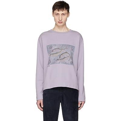 (アクネ ストゥディオズ) Acne Studios メンズ トップス スウェット・トレーナー Purple Oslavi P Fish Sweatshirt [並行輸入品]