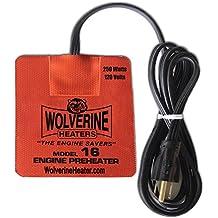 Wolverine Heaters - Model 16 - 250 Watts - Engine Oil, Reservoir, Biofuel and Hydraulic Fluid Heater - 120 Volts