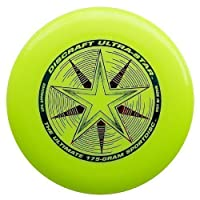 Discraft Ultra-Star 175g Ultimate Frisbee Starburst - gelb