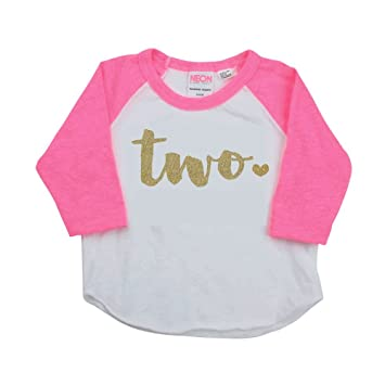 Amazon Girl Second Birthday Outfit Shirt Two