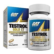 GAT Testrol Gold ES Boosters, 60 Tablets