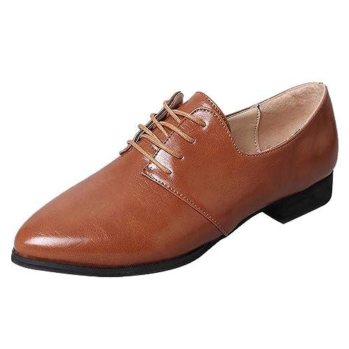 ALIKEEY Mocasines Zapatos De Vestir De Material Sintético para Mujer Zapatos con Tacon Alto para Mujer: Amazon.es: Zapatos y complementos