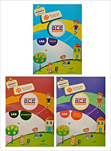 Buy Ace Lkg Kids All In One Worksheets 304 Pages Kg 1 Montessori