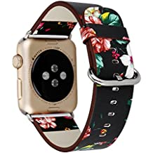 Urberry 38mm Woven Nylon Fabric Replacement Band for Apple Watch Series 2, Series 1, Sport, Edition