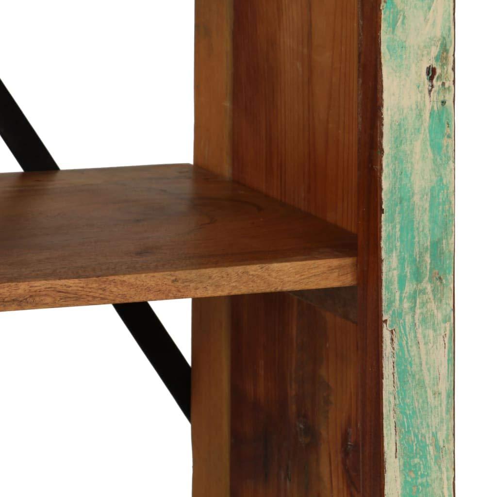 vidaXL Estanter/ía de Madera Reciclada 80x35x180 cm Estante Repisa Organizador