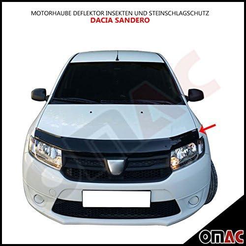 Hood Deflector Bug and Carbon Hood Bra Dacia Sandero from 2012