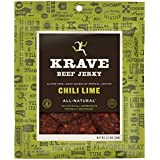 KRAVE Jerky Beef, Chili Lime, 2.7 Ounce