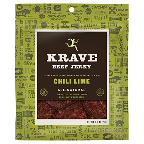 Krave Jerky - All Natural Beef Jerky Chili Lime