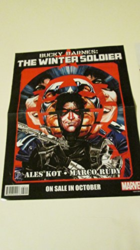 Marvel Comics Bucky Barnes Winter Soldier / Original Sin Annual Double Sided Promo Poster