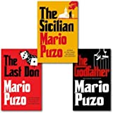 Mario Puzo The Godfather Collection 3 Books Set, (The Last Don, The Sicilian and The Godfather)