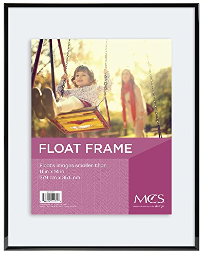 MCS Float Frame 11 by 14-Inch, Black