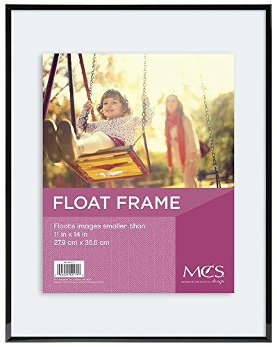 MCS Float Frame 11 by 14-Inch, Black