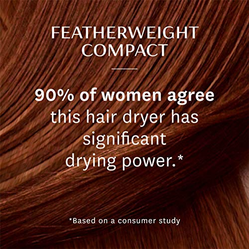 T3 - Featherweight Compact Folding Hair Dryer | Lightweight & Portable Dual Voltage Travel Hair Dryer | T3 SoftAire Technology for Fast, Healthy, and Frizz-Free Blow Drying | Includes Storage Bag by T3 Micro (Image #4)