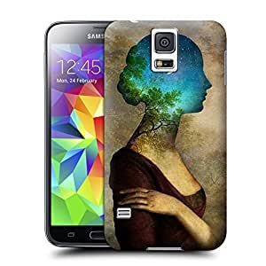 Unique Phone Case Innovation girl-08 Hard Cover for samsung galaxy s5 cases-buythecase