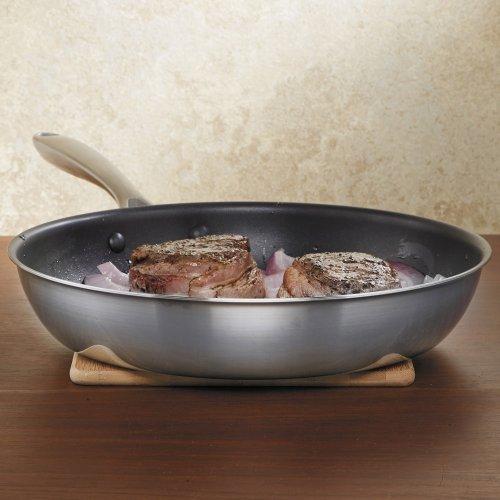 KitchenAid KCC12NKST Nonstick Skillet Cookware