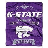 northwest company throw - NCAA Kansas State Wildcats College Label Raschel Throw, 50 x 60-Inch