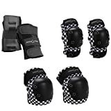 Pro-Tec Black Checker Junior 3 Pack YS