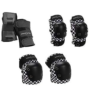 Pro-Tec Black Checker Elbow Pads S