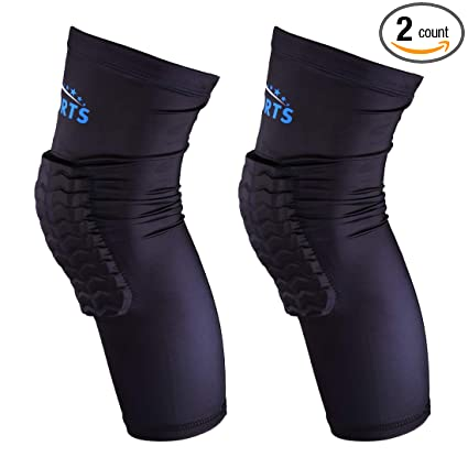 290ee44995 VSPORTS Basketball Knee Pads Sleeve Compression for Volleyball Baseball  Wrestling Hiking Soccer Football Vollyeball Running Tennis Sports - Men  Women Youth ...