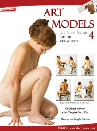 Art Models 4: Life Nude Photos for the Visual Arts (Art Models series)