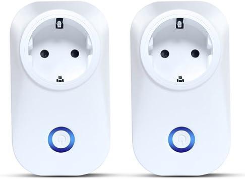 Smart Power Outlet, Volador Smart WiFi Power Socket funciona con ...
