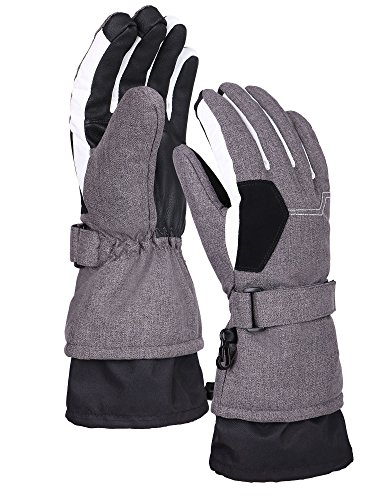white insulated gloves - 3