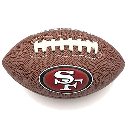 Jarden Sports Licensing Official National Football League Fan Shop Authentic NFL AIR IT Out Youth Football. Great for Pick up Game with The Kids. (San Francisco 49ers)