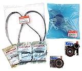 #2: TIMING BELT KIT Genuine/Honda / Acura OEM V6 Water Pump Seals pulleys