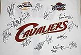 Cleveland Cavaliers Cavs 2006-07 Team Autographed Signed White Jersey PAAS COA Lebron Zydrunas Varejao