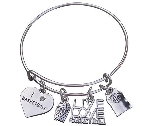 Pulsera de baloncesto bracelet- baloncesto bracelet- baloncesto ...