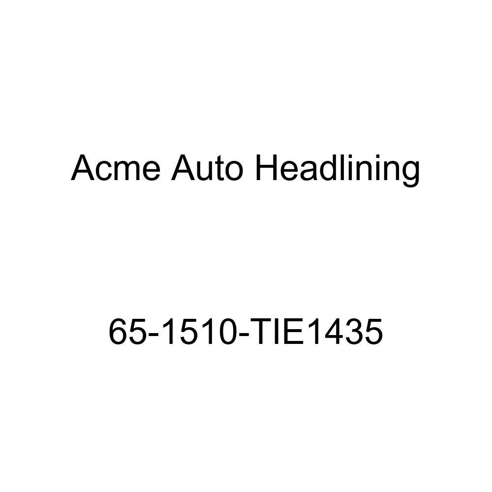 Acme Auto Headlining 65-1510-TIE1435 Tan Replacement Headliner Pontiac Bonneville /& Catalina 2 Door Hardtop 5 Bow