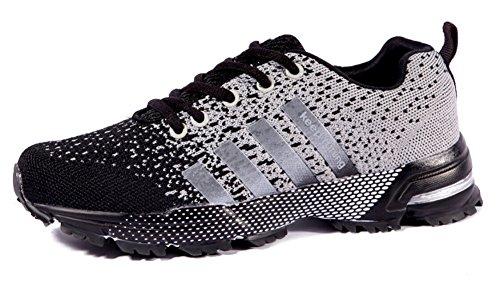 Sneaker Tennis Athletic Black White Fashion Shoes Jogging Women's Running JiYe Men's Shoes Walking IBTwf8wqHn