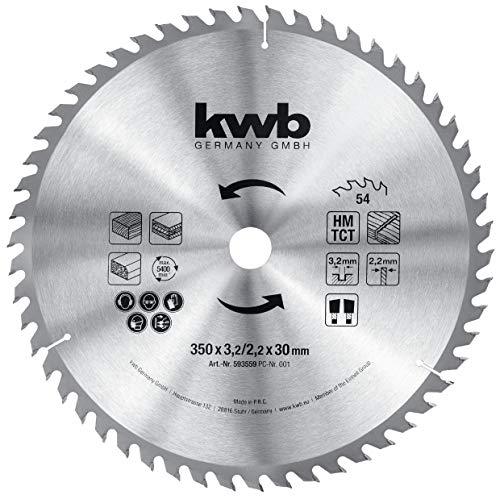 kwb 593559 - Hoja de sierra circular para sierras circulares de ...