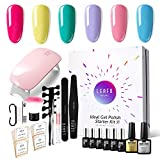 Modelones Gel Nail Polish Starter Kit Candy Colors Portable Nail Art Kit - Best Reviews Guide