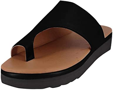 T-JULY Women Fashion Shoes Beach Flip Flops Wedges Outside Sandal Slippers with Colorful Upper High Platform