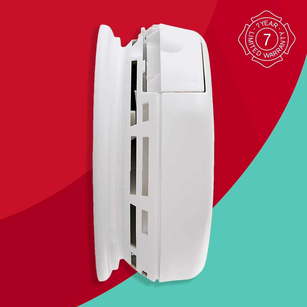 First Alert Smoke Detector and Carbon Monoxide Detector Alarm | Battery Operated, SCO5CN
