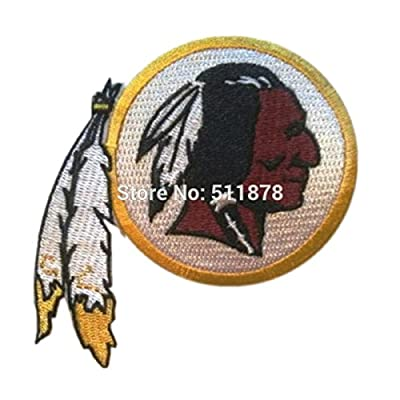 J&C Family Owned Application NFL Kansas City Chiefs Theme Cosplay Applique Patch Great gift for Parties, Decoration. Or Collecting!