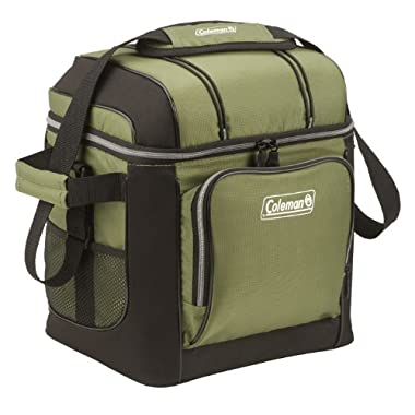 Coleman 30 Can Cooler, Green