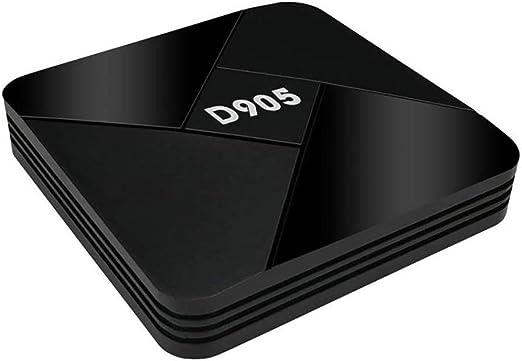 YPSMLYY D905 Android Network Smart TV Box Soporte De Entretenimiento para El Hogar 3D WiFi HDMI 4K Network Player TV Box S905 Quad Core Media Player: Amazon.es: Hogar