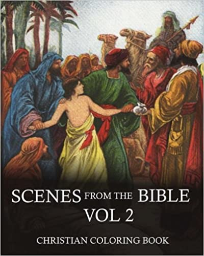 Pdb ebook free download coloring book:scenes from the bible an.