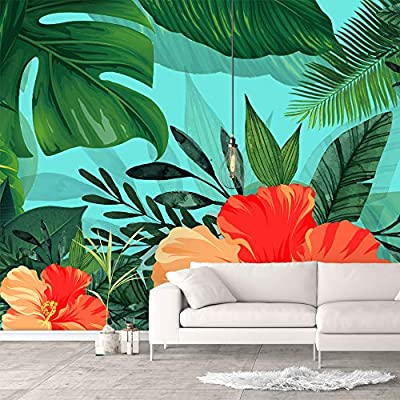 That You Will Love, Gorgeous Work of Art, Wall Murals for Bedroom Green Plants Animals Removable Wallpaper Peel and Stick Wall Stickers