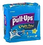 Huggies Pull-Ups Night Time Training Pants Disney Glow In The Dark 3T-4T 20 CT (Pack of 16)