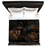 CafePress - Til Death Do Us Part Poster - King Duvet Cover, Printed Comforter Cover, Unique Bedding, Microfiber