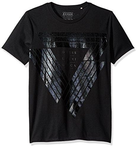 GUESS Mens Cut Crew T Shirt
