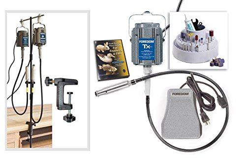 Foredom Woodcarving Kit K.5401 TX300, MAMH-1 115v 1/3 hp 15,000 Max. rpm